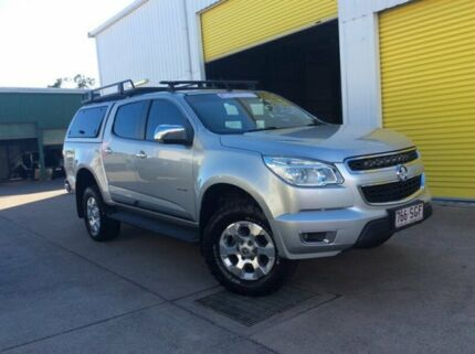 2012 Holden Colorado RG MY13 LTZ Crew Cab 4x2 Silver 5 Speed Manual Utility Maryborough Fraser Coast Preview