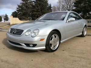 2002 Mercedes Benz CL55, AMG, RARE CAR, ONLY 114K, $13,500