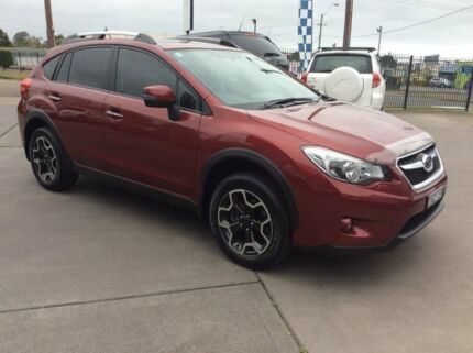 2013 Subaru XV MY13 2.0I-S Venetian Red Mica Continuous Variable Wagon