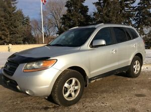2007 Hyundai Santa Fe, GL-Pkg, AUTO, AWD, LOADED, $6,700