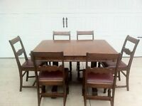Antique Dining Room Suite for Sale - Great addition to any home