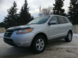 2008 Hyundai Santa Fe, GLS-PKG, AUTO, AWD, LEATHER, ROOF, $9,500