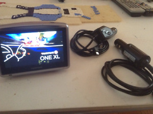 TomTom One XL GPS with cable. Asking $25