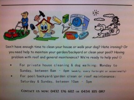 Efficient Private House Cleaner for Your Home! Merewether Heights Newcastle Area Preview