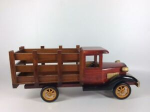 Vintage Side Board Truck Container by Burton & Burton