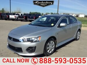 2016 Mitsubishi Lancer ES SEDAN Heated Seats,  Bluetooth,  A/C,