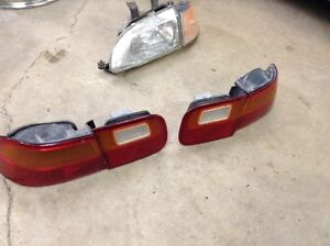 Honda Civic Tail lamps (tail lights) assemblies - all 4 pieces London Ontario image 2