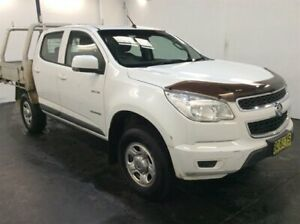 2012 Holden Colorado RG LX (4x2) White 5 Speed Manual Cab Chassis Cardiff Lake Macquarie Area Preview