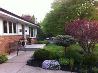 Executive 3 bedroom home for rent August 15th Furn & Inclusive
