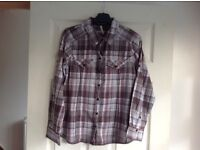 Checked shirt - size 12/14 - Good condition
