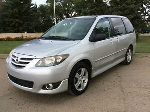 2006 Mazda MPV, GS-PKG, AUTO, LEATHER, ROOF, CLEAN, $3,800