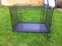Large Dog Cage - Very Good Condition