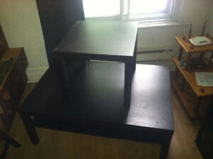 Tables basses IKEA / IKEA low tables