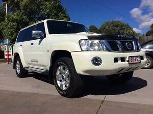 2012 Nissan Patrol Y61 GU 8 ST White 4 Speed Automatic Wagon Pialba Fraser Coast Preview