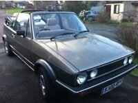 Vw mk1 Golf GL cabriolet 1985