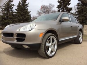 2004 Porsche Cayenne, S-PKG, AUTO, AWD, LEATHER, ROOF, 168km!!!