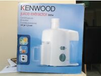 Kenwood juice extractor .great condition ..only little use