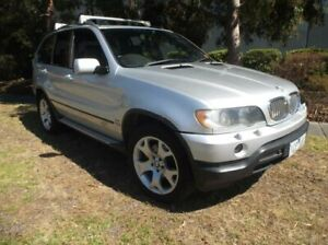 2002 BMW X5 E53 4.4I Silver 5 Speed Auto Steptronic Wagon Moorabbin Kingston Area Preview