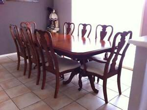 9 piece dining suite Petrie Pine Rivers Area Preview