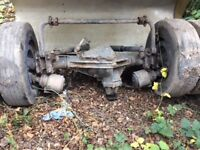 MAN 8.150 7.5 tonne truck rear axle