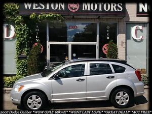 2007 Dodge Caliber WOW ONLY 68KM!!* GREAT DEAL* WONT LAST LONG*