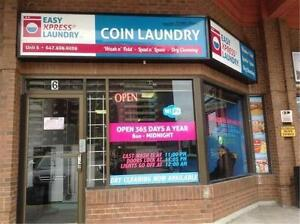 Unattended Coin Laundry For Sale in Toronto
