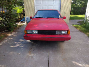 '85 VW Scirocco Wolfsburg Ed. Great Condition, Goose Bay