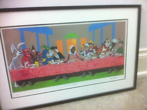 Last Breakfast -Limited Ed. Framed Lithograph Art