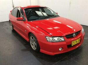2004 Holden Commodore VZ SV6 Red 5 Speed Auto Active Select Sedan