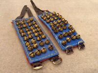 Indian Dancing Anklet Bells (Ghungroo) in near-mint condition (32-bell and 24-bell)