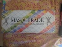 Masquerade Board Game - used but in good condition - collect from Guildford GU1
