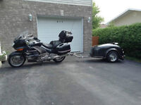 BMW K-Series with trailer