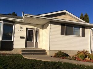 3b/r bungalow Double detached oversize garage Available May1