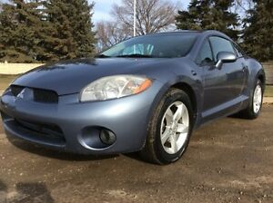 2007 Mitsubishi Eclipse GS, 5/SPD, LOADED, $6,500