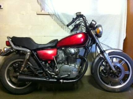 1980 XS650'S- TWO BIKES ,CAFE RACER,BOBBER, TRACKER,PROJECT