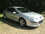 2007 Peugeot 407 ST HDI Silver 6 Speed Sports Automatic Sedan Nambour Maroochydore Area Preview