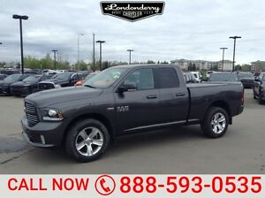 2014 Ram 1500 4WD QUADCAB SPORT Back-up Cam,  Bluetooth,