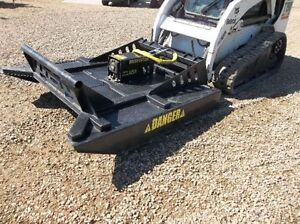 BRAND NEW 72 INCH BRUSH CUTTER MOWER FOR A SKID STEER