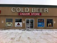 Seeking fun, friendly and reliable liquor store associate