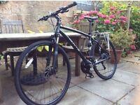 whyte ridgeway 2015 matte granite medium hybrid/mountain bike - almost new