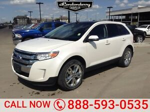 2013 Ford Edge AWD LIMITED Accident Free,  Navigation (GPS),  Le