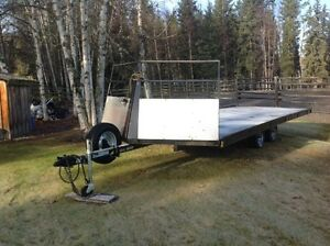 SNOWMOBILE TRAILER-EXCELLENT CONDITION
