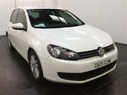 2011 Volkswagen Golf 1K MY12 118 TSI Comfortline White 7 Speed Auto Direct Shift Hatchback Cardiff Lake Macquarie Area Preview