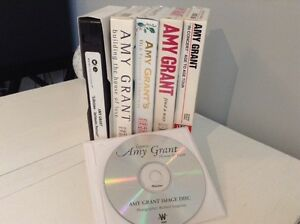 5 hard-to-find/rare Amy Grant VHS music videos and concerts