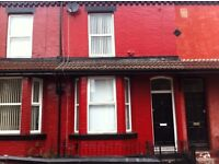 NO DEPOSIT... Three bedroom Terraced property on August Road L6 Tuebrook, close to city center