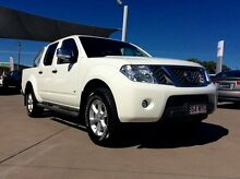 2013 Nissan Navara D40 S5 MY12 ST-X White 7 Speed Sports Automatic Utility Pialba Fraser Coast Preview