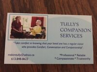 TULLY'S COMPANION SERVICES