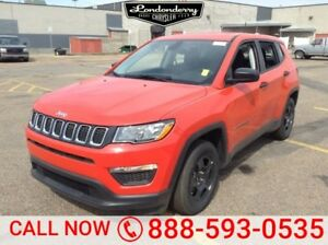 2017 Jeep Compass SPORT Bluetooth,  A/C,