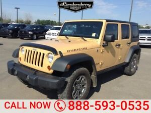 2013 Jeep Wrangler Unlimited 4WD UNLIMTED RUBICON A/C,