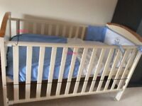 Henley Cot Bed / Toddler Bed / Dropside Cot